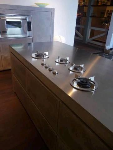 Vittoria5sterne i cooking kochsystem for Gasbrenner küche